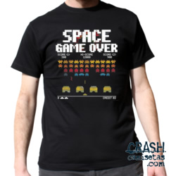 SPACE INVADERS- GAME OVER-