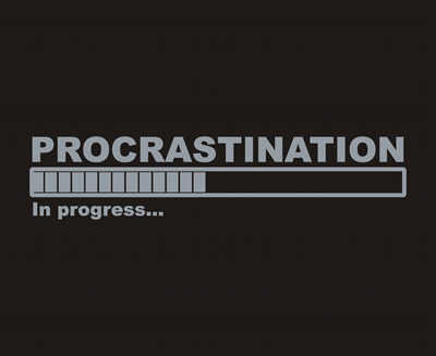 PROCRASTINATION - METALIZADO-
